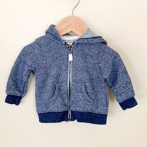 Carter's | Baby Boy ZIP-up Jacket w/ Hood 6 Month